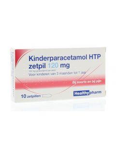 Paracetamol zetpillen 120mg