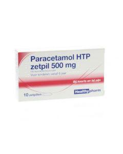 Paracetamol zetpillen 500mg