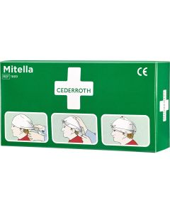 Cederroth mitella met spelden