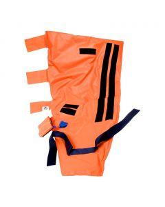 Vacuumspalk grote set Germa in tas oranje