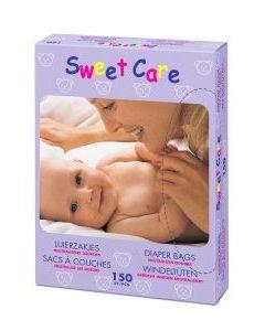 Sweetcare luierzakjes 150st.