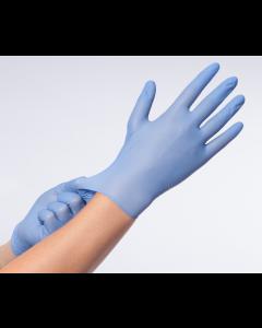 Handschoen nitril premium PV Comforties M blauw