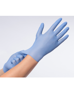 Handschoen nitril premium PV Comforties S blauw