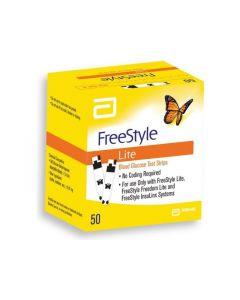 Teststrips glucose FreeStyle Lite 50 stuks