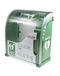 AED wandkast 210 met alarm en pin