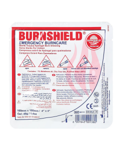 Burnshield face mask 20x45cm