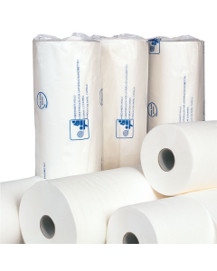 Onderzoeksbankpapier 50cmx150m wit