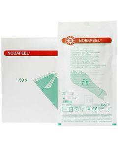 OK handschoen Nobafeel latex poedervrij 7,5