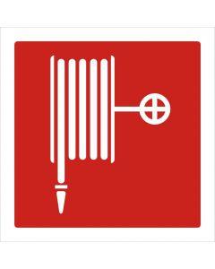 Pictogram sticker brandhaspel 10x10cm