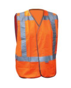 Veiligheidsvest RWS oranje Ploegleider maat XL-XXL